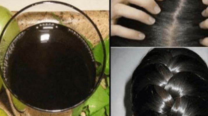 Bu mucizevi siyah suyla beyaz saçlarınız kaybolacak! 3